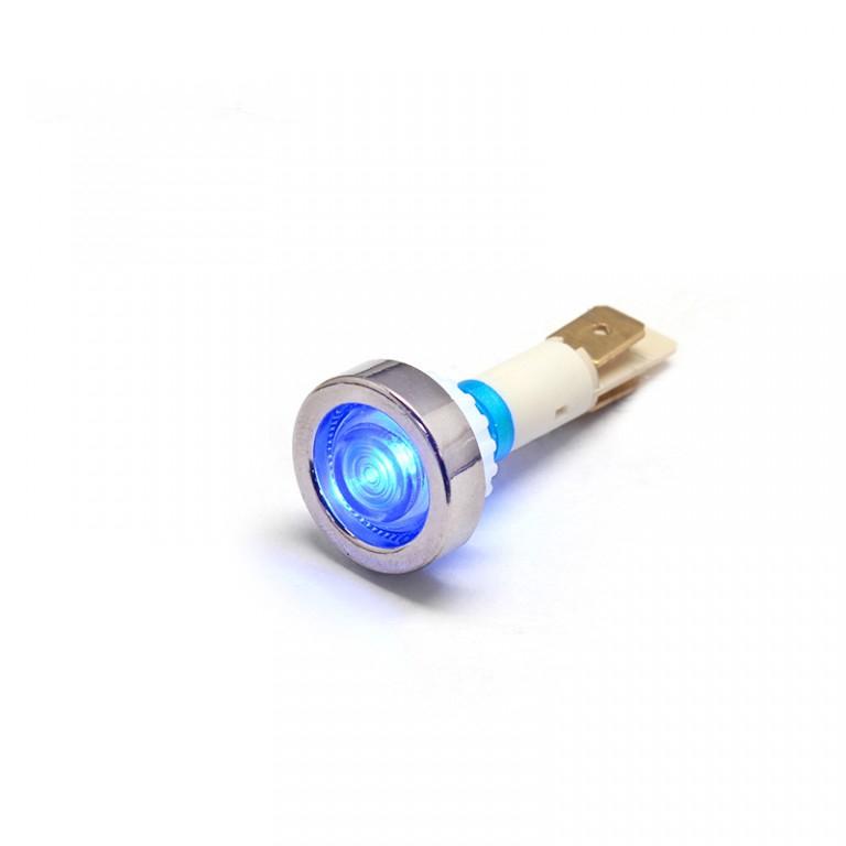 10mm 2/5 3v red plastic led indicator light