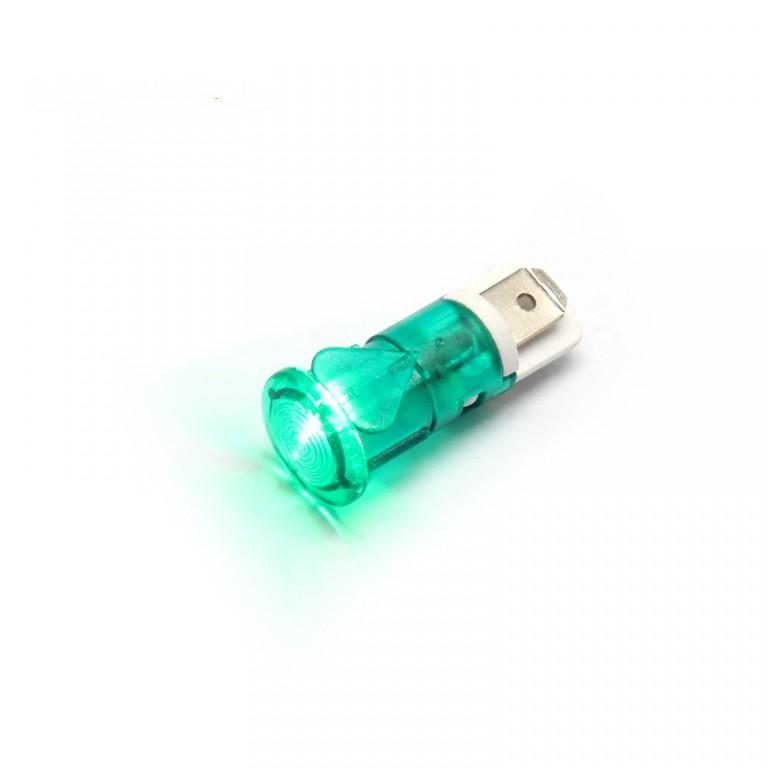 12mm 12v led ip67 plastic pilot light