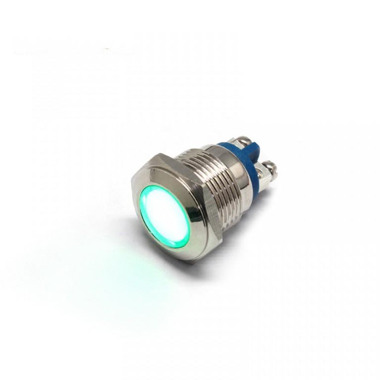 16mm led Screw feet 24v metal indicator light pilot lamp