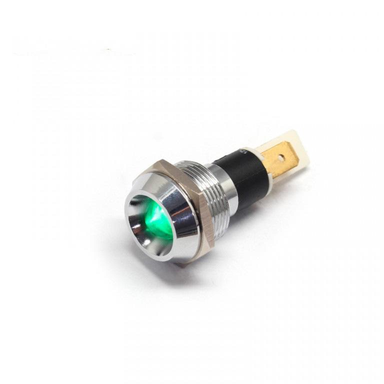 22mm 12v ip67 led metal jemco indicator light